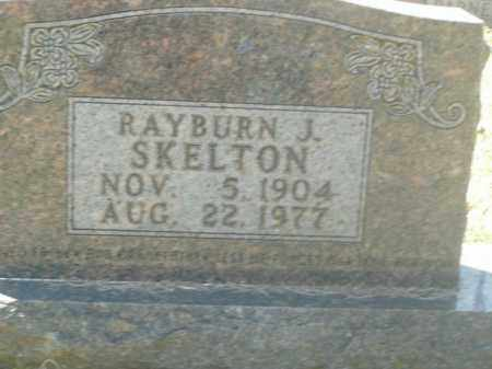 SKELTON, RAYBURN J. - Boone County, Arkansas | RAYBURN J. SKELTON - Arkansas Gravestone Photos