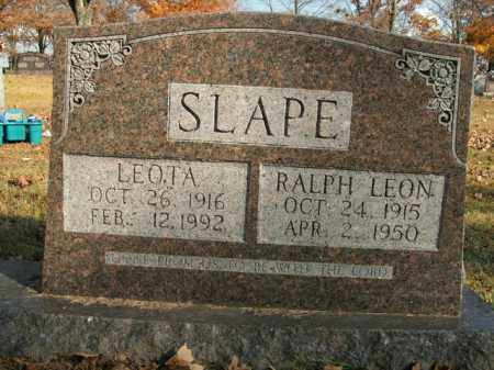SLAPE, LEOTA - Boone County, Arkansas | LEOTA SLAPE - Arkansas Gravestone Photos