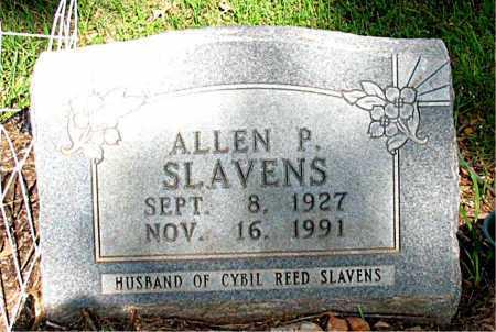 SLAVENS  (VETERAN WWII), ALLEN PAUL - Boone County, Arkansas | ALLEN PAUL SLAVENS  (VETERAN WWII) - Arkansas Gravestone Photos