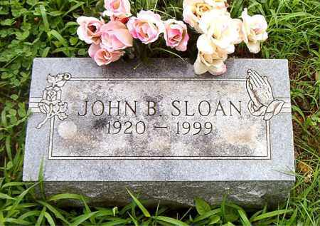 SLOAN, JOHN  B. - Boone County, Arkansas | JOHN  B. SLOAN - Arkansas Gravestone Photos