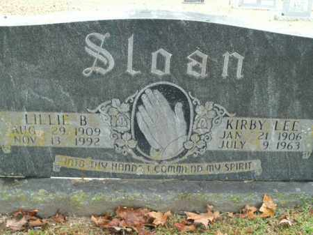 SLOAN, LILLIE B. - Boone County, Arkansas | LILLIE B. SLOAN - Arkansas Gravestone Photos