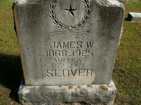 SLOVER, JAMES W. - Boone County, Arkansas | JAMES W. SLOVER - Arkansas Gravestone Photos