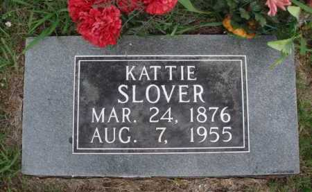 SLOVER, KATTIE - Boone County, Arkansas | KATTIE SLOVER - Arkansas Gravestone Photos