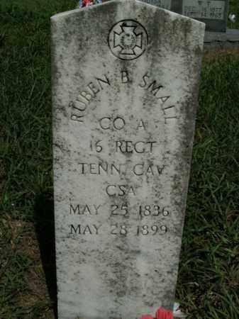 SMALL  (VETERAN CSA), RUBEN B. - Boone County, Arkansas | RUBEN B. SMALL  (VETERAN CSA) - Arkansas Gravestone Photos