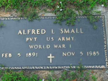 SMALL  (VETERAN WWI), ALFRED L. - Boone County, Arkansas | ALFRED L. SMALL  (VETERAN WWI) - Arkansas Gravestone Photos