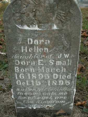 SMALL, DORA HELLEN - Boone County, Arkansas | DORA HELLEN SMALL - Arkansas Gravestone Photos