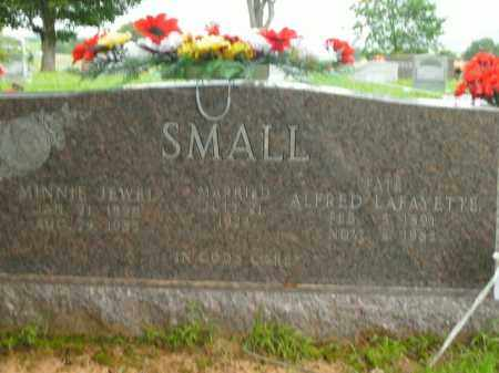 SMALL, ALFRED LAFAYETTE - Boone County, Arkansas | ALFRED LAFAYETTE SMALL - Arkansas Gravestone Photos