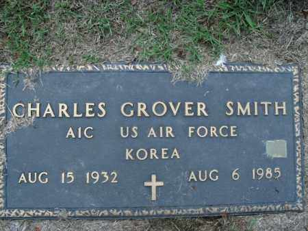 SMITH  (VETERAN KOR), CHARLES GROVER - Boone County, Arkansas | CHARLES GROVER SMITH  (VETERAN KOR) - Arkansas Gravestone Photos
