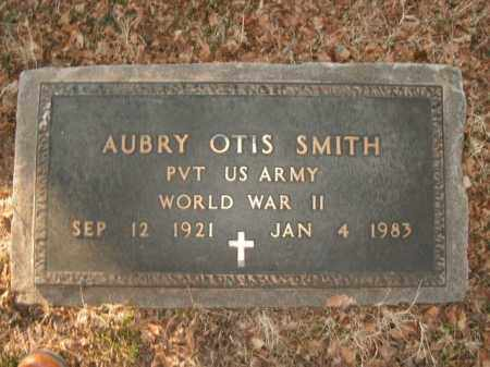SMITH  (VETERAN WWII), AUBRY OTIS - Boone County, Arkansas | AUBRY OTIS SMITH  (VETERAN WWII) - Arkansas Gravestone Photos