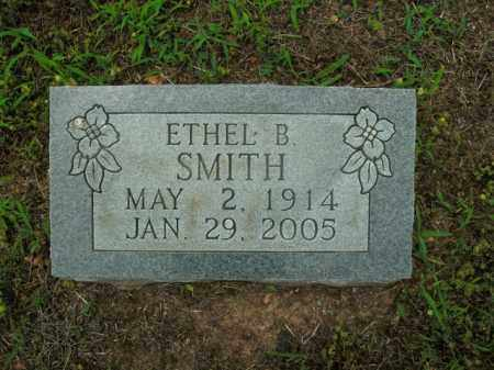 SMITH, ETHEL B. - Boone County, Arkansas | ETHEL B. SMITH - Arkansas Gravestone Photos