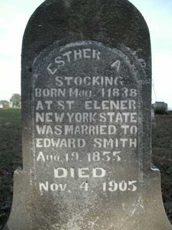 STOCKING SMITH, ESTHER A. - Boone County, Arkansas | ESTHER A. STOCKING SMITH - Arkansas Gravestone Photos