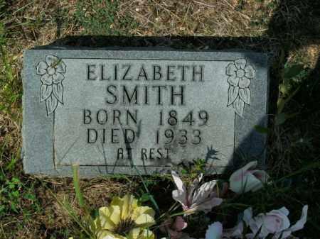 SMITH, ELIZABETH - Boone County, Arkansas | ELIZABETH SMITH - Arkansas Gravestone Photos