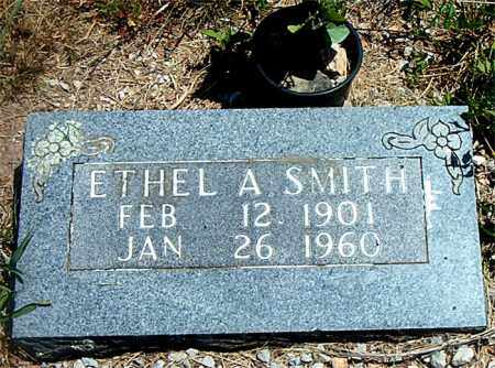 SMITH, ETHEL  A. - Boone County, Arkansas | ETHEL  A. SMITH - Arkansas Gravestone Photos