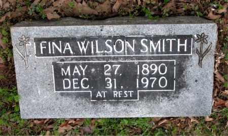 WILSON SMITH, FINA - Boone County, Arkansas | FINA WILSON SMITH - Arkansas Gravestone Photos
