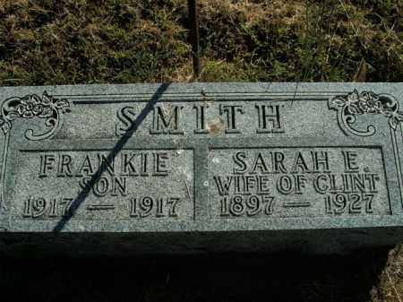 SMITH, FRANKIE - Boone County, Arkansas | FRANKIE SMITH - Arkansas Gravestone Photos