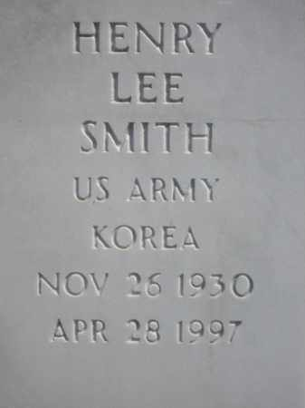 SMITH (VETERAN KOR), HENRY LEE - Boone County, Arkansas | HENRY LEE SMITH (VETERAN KOR) - Arkansas Gravestone Photos