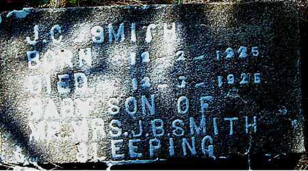 SMITH, J.  C. - Boone County, Arkansas | J.  C. SMITH - Arkansas Gravestone Photos
