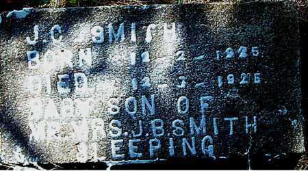 SMITH, J.  C. - Boone County, Arkansas | J.  C. SMITH - Arkansas Gravestone Photos