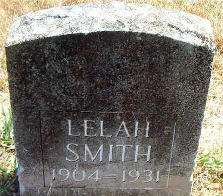 SMITH, LELAH - Boone County, Arkansas | LELAH SMITH - Arkansas Gravestone Photos