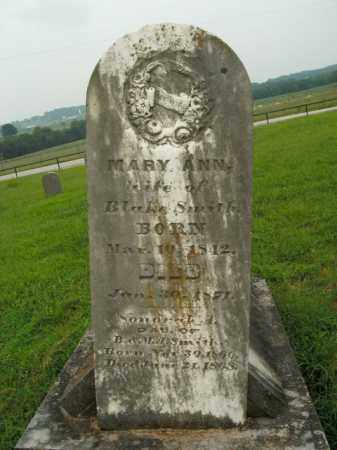 SMITH, MARY ANN - Boone County, Arkansas | MARY ANN SMITH - Arkansas Gravestone Photos