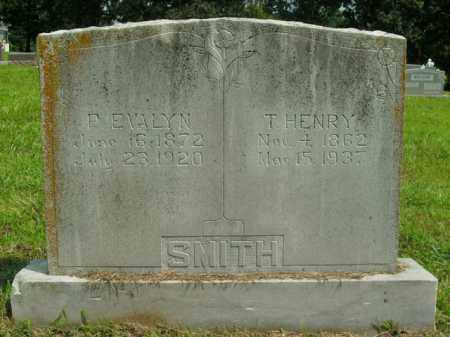 SMITH, P.  EVALYN - Boone County, Arkansas | P.  EVALYN SMITH - Arkansas Gravestone Photos