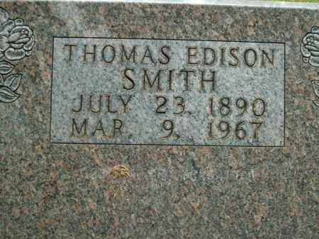 SMITH, THOMAS EDISON - Boone County, Arkansas | THOMAS EDISON SMITH - Arkansas Gravestone Photos