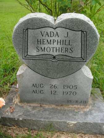 HEMPHILL SMOTHERS, VADA J. - Boone County, Arkansas | VADA J. HEMPHILL SMOTHERS - Arkansas Gravestone Photos