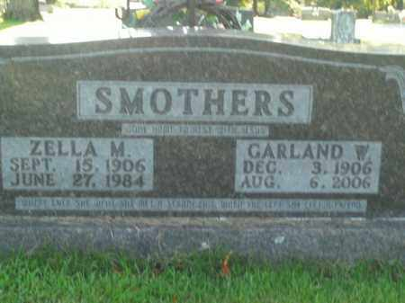 SMOTHERS, GARLAND W. - Boone County, Arkansas | GARLAND W. SMOTHERS - Arkansas Gravestone Photos