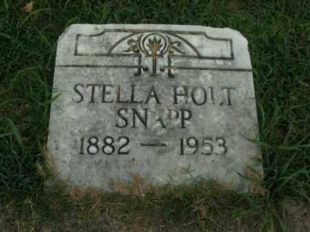 SNAPP, STELLA - Boone County, Arkansas | STELLA SNAPP - Arkansas Gravestone Photos