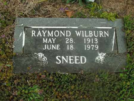 SNEED, RAYMOND WILBURN - Boone County, Arkansas | RAYMOND WILBURN SNEED - Arkansas Gravestone Photos