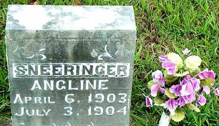 SNEERINGER, ANGLINE - Boone County, Arkansas | ANGLINE SNEERINGER - Arkansas Gravestone Photos