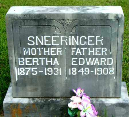 SNEERINGER, BERTHA - Boone County, Arkansas | BERTHA SNEERINGER - Arkansas Gravestone Photos
