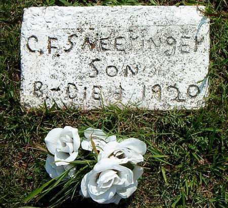 SNEERINGER, C.  F. - Boone County, Arkansas | C.  F. SNEERINGER - Arkansas Gravestone Photos