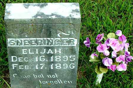 SNEERINGER, ELIJAH - Boone County, Arkansas | ELIJAH SNEERINGER - Arkansas Gravestone Photos
