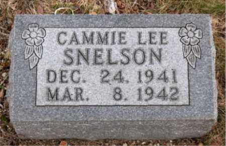 SNELSON, CAMMIE LEE - Boone County, Arkansas | CAMMIE LEE SNELSON - Arkansas Gravestone Photos