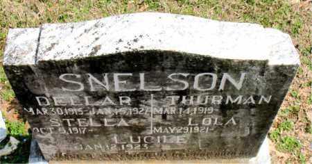 SNELSON, DELLAR - Boone County, Arkansas | DELLAR SNELSON - Arkansas Gravestone Photos