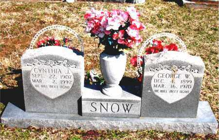 SNOW, GEORGE  WASHINGTON - Boone County, Arkansas | GEORGE  WASHINGTON SNOW - Arkansas Gravestone Photos