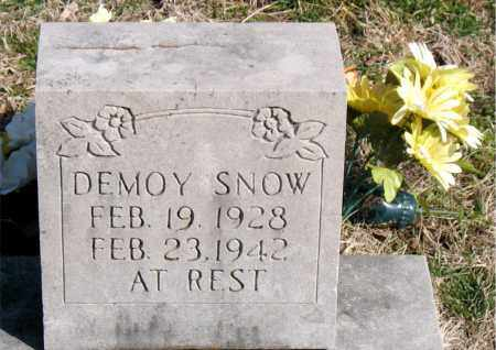 SNOW, DEMOY - Boone County, Arkansas | DEMOY SNOW - Arkansas Gravestone Photos