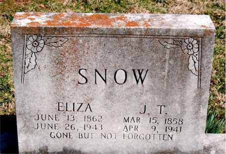 SNOW, J.  T. - Boone County, Arkansas | J.  T. SNOW - Arkansas Gravestone Photos
