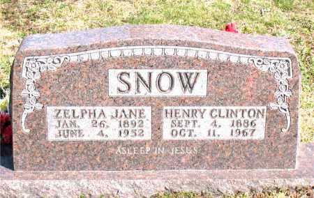 ALREAD SNOW, ZELPHA JANE - Boone County, Arkansas | ZELPHA JANE ALREAD SNOW - Arkansas Gravestone Photos