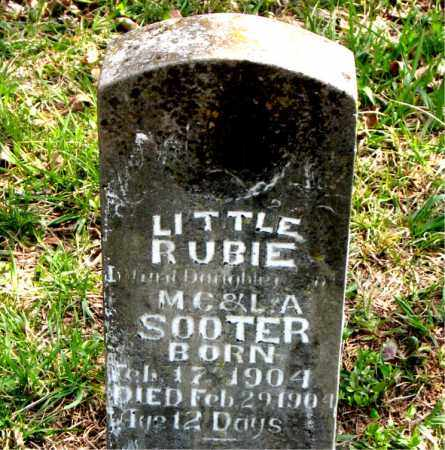 SOOTER, RUBIE - Boone County, Arkansas | RUBIE SOOTER - Arkansas Gravestone Photos