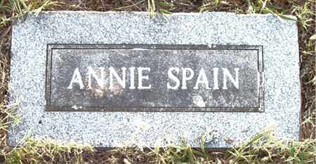 SPAIN, ANNIE - Boone County, Arkansas | ANNIE SPAIN - Arkansas Gravestone Photos