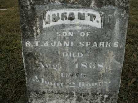 SPARKS, INFANT SON - Boone County, Arkansas | INFANT SON SPARKS - Arkansas Gravestone Photos