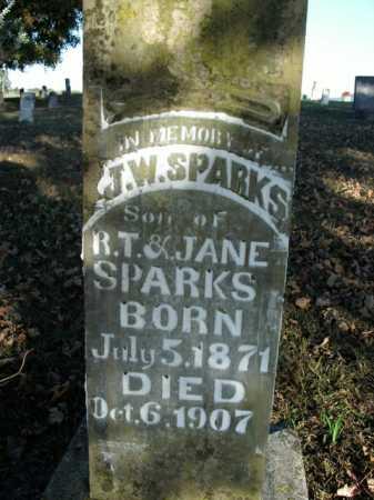 SPARKS, J.W. - Boone County, Arkansas | J.W. SPARKS - Arkansas Gravestone Photos