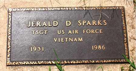 SPARKS  (VETERAN VIET), JERALD D - Boone County, Arkansas | JERALD D SPARKS  (VETERAN VIET) - Arkansas Gravestone Photos
