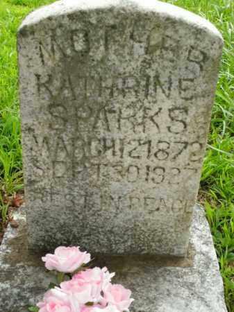 SPARKS, KATHRINE - Boone County, Arkansas | KATHRINE SPARKS - Arkansas Gravestone Photos