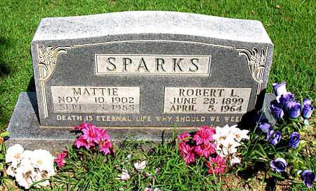 SPARKS, ROBERT L - Boone County, Arkansas | ROBERT L SPARKS - Arkansas Gravestone Photos