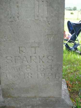 SPARKS, R. T. - Boone County, Arkansas | R. T. SPARKS - Arkansas Gravestone Photos