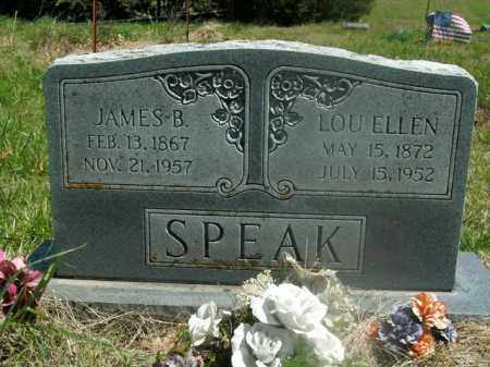 SPEAK, JAMES B. - Boone County, Arkansas | JAMES B. SPEAK - Arkansas Gravestone Photos
