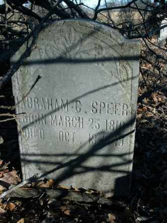 SPEER, ABRAHAM C. - Boone County, Arkansas | ABRAHAM C. SPEER - Arkansas Gravestone Photos